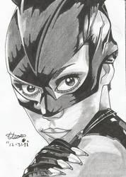 Catwoman by ZeroEdgeArt