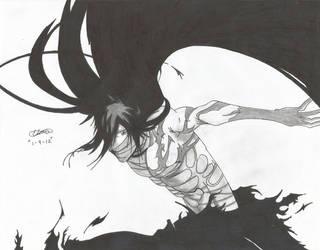 Final Getsuga Ichigo by ZeroEdgeArt