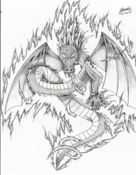 Djinn Dragon by ZeroEdgeArt