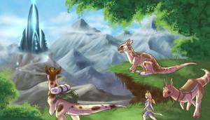 Kukuri - The mysterious monolith by Calluna-Draconis