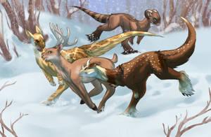 Kukuri - How many kukus it takes to catch a deer? by Calluna-Draconis