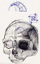 Skull and stuff by starmandx