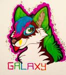 Galaxy Headshot by ArrowAzura