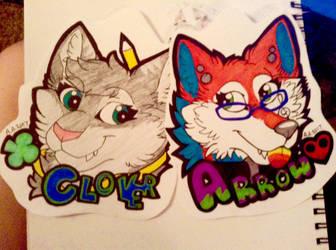 Friend Badges by ArrowAzura