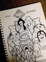 little nightmares WIP by ArrowAzura