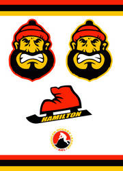 Hamilton Canucks Concept Logo by Sportsworth