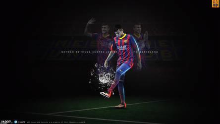 186. Neymar Jr. by J1897