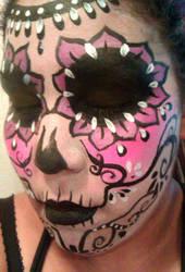 sugar skull by ARTSIE-FARTSIE-PAINT