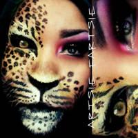 leopard eyes by ARTSIE-FARTSIE-PAINT