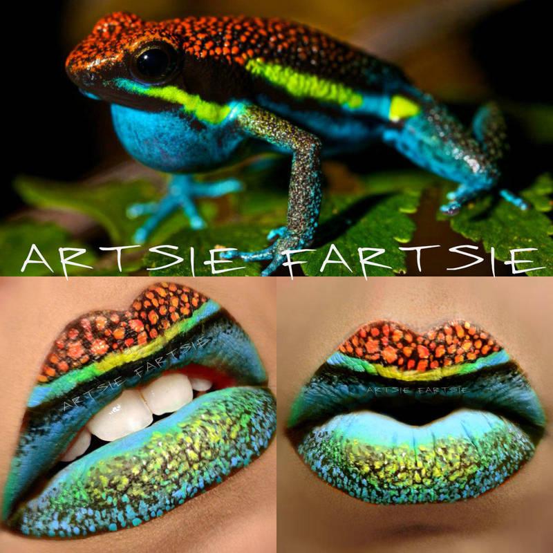 Poison dart frog by ARTSIE-FARTSIE-PAINT