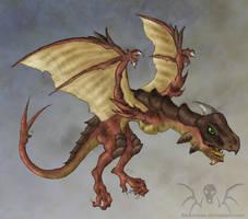 Lil' Wyvern by Darkwyrm