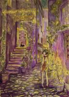 Down the Alleyway by buzzin-bim