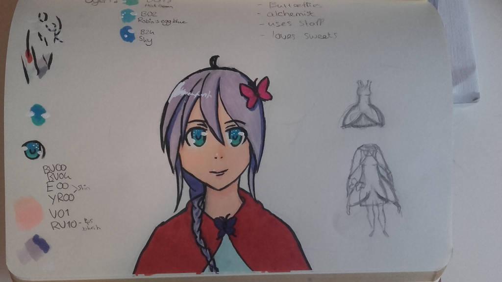 Pretty Sketch by KitsuneRinn