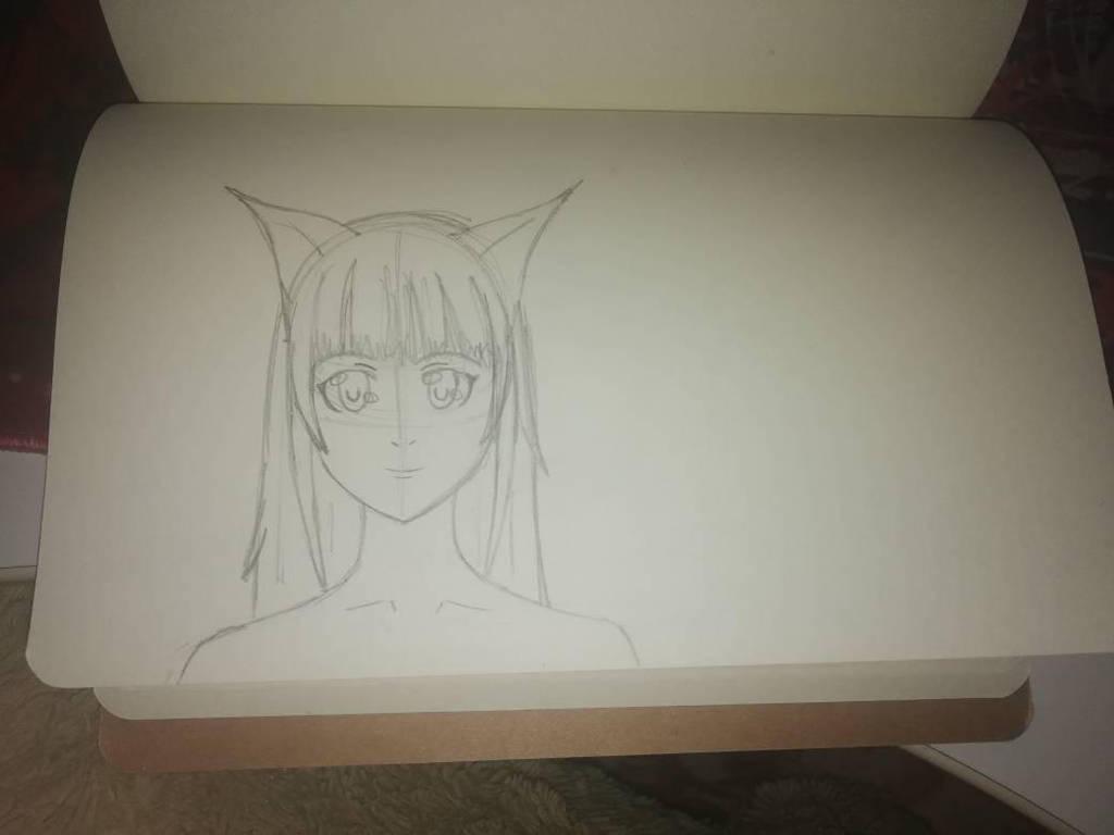 Cute sketch by KitsuneRinn
