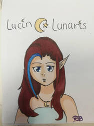 Moon Elf Lucin Lunaris by KitsuneRinn