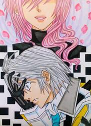 Lightning x Hope: The Rose-Haired Phantom by dagga19
