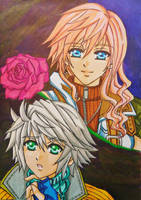 Lightning x Hope : You're not alone by dagga19