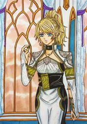 Kingsglaive FF XV : Lunafreya Nox Fleuret by dagga19
