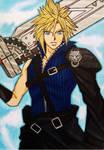 Dissidia Final Fantasy NT: Cloud Strife by dagga19
