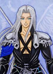 Dissidia Final Fantasy: Sephiroth by dagga19