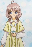 Card Captor Sakura - Clear Card: Shinomoto Akiho by dagga19