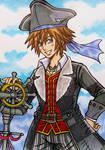 Kingdom Hearts 3 : Sora, Pirate of the Caribbean by dagga19