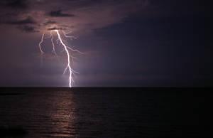 Lightning Strike by skipsstock