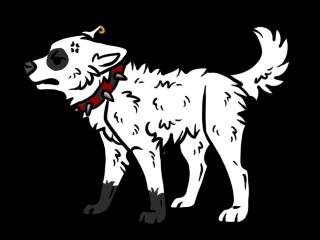 Punk Wolf Chibi by OnikisuWasuremono