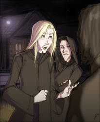 arriving at snape's crib by makani