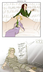 the malfoys' valentine's day by makani