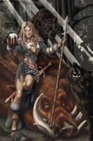 Boar Spear by JNHall