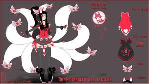 Concept Art -Ahri Star Guardian -League of Legends by Oeuvres-de-Michiko