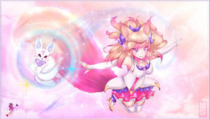 Ahri Star Guardian - League of Legends by Oeuvres-de-Michiko