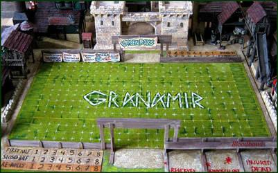 BloodBowl Stadium by Granamir by Granamir