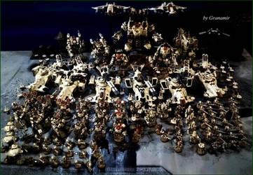40k Tau army update 2016 by granamir by Granamir