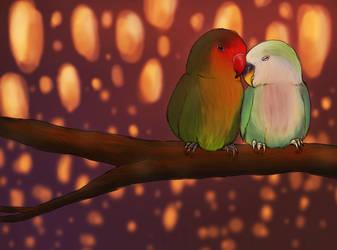 Lovebirds by xValkyrja
