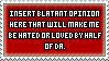Opinion Stamp by JaxxyLupei