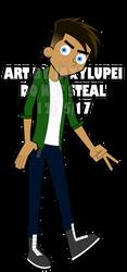 DP: Hey Cool Guy by JaxxyLupei
