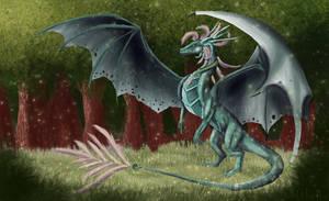 Jade guardian by Nihalla