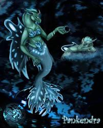 Pankendra the Nereid (MUNL oc contest) by Nihalla