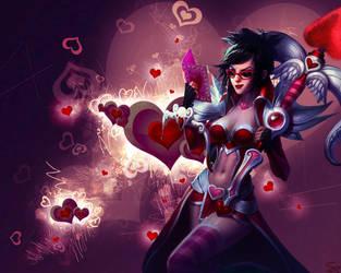 Heartseeker Vayne Wallpaper 1280x1024 by TSUDAR0