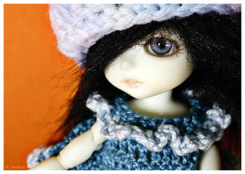 White soul black hair by kujaku