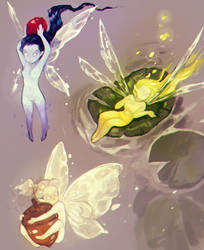 fairy doodles by tinypaint
