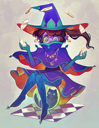 Witchsona by tinypaint