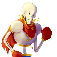 papyrus believes in you! by pineknocker