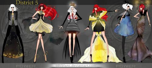 District 5 Fashion by CdCblanc