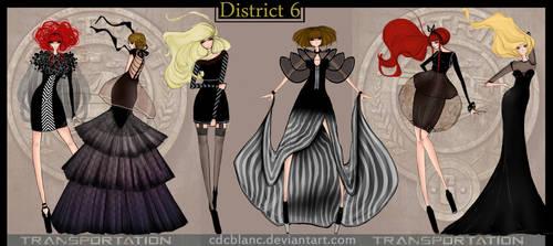 District 6 Fashion by CdCblanc