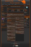 GamingTheme-CS orange by sonars