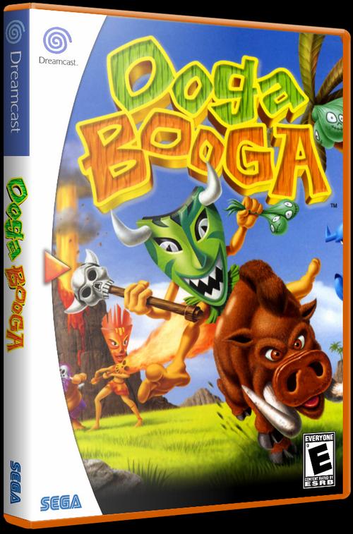 Ooga Booga (Dreamcast) [2001] - 3D Cover by KASTORMDM