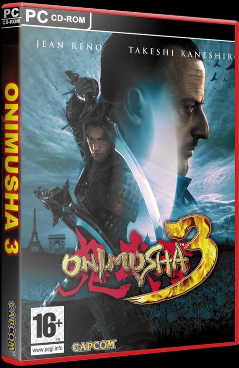 Onimusha 3: Demon Siege (PC) [2005] - 3D Cover by KASTORMDM